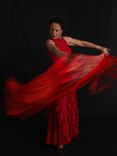 Baile Flamenco con Maria Luisa